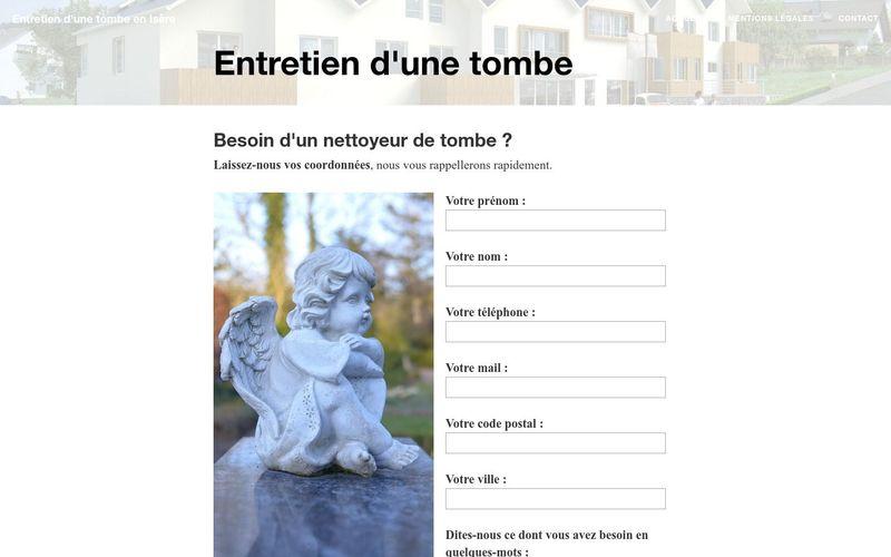 Comment faire entretenir une tombe à Grenoble ?